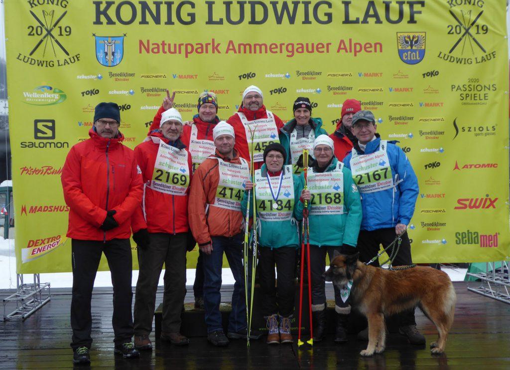 Die Teilnehmer des WSV Ilmenau.